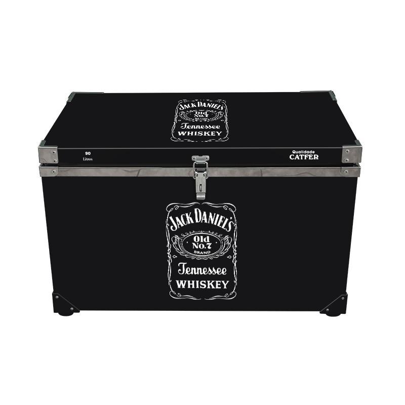 Caixa Térmica 90 Litros Jack Daniel's
