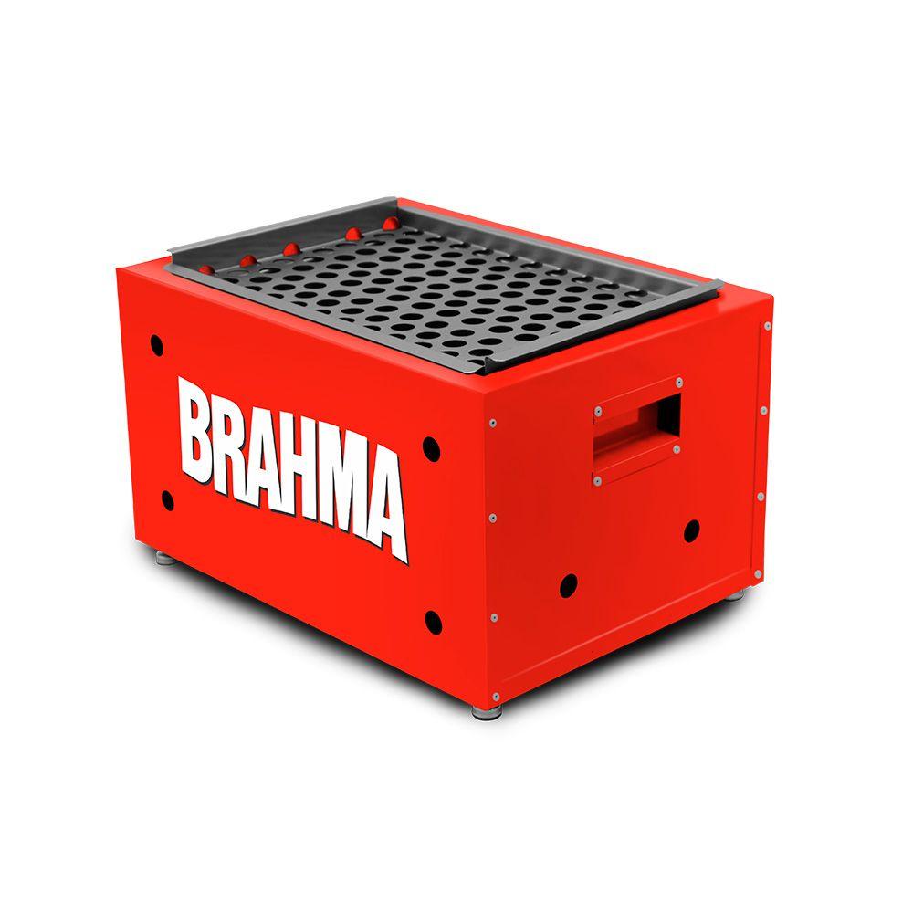 Churrasqueira A Carvão Portátil Brahma