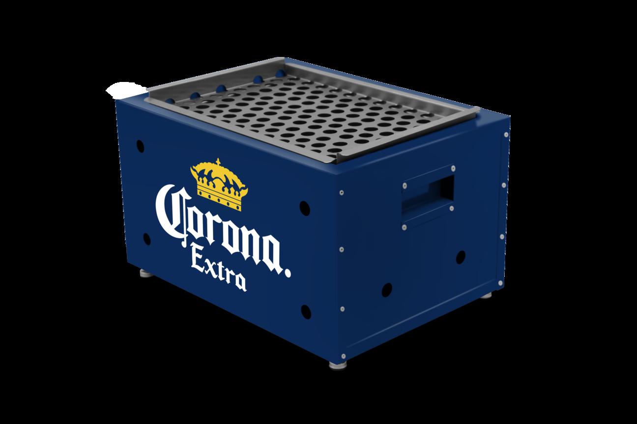 Churrasqueira A Carvão Portátil Corona