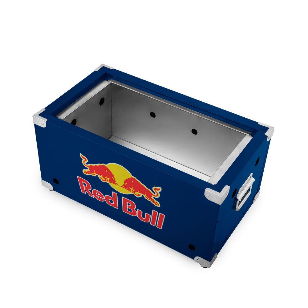 Churrasqueira Portátil de Inox a Carvão - Red Bull