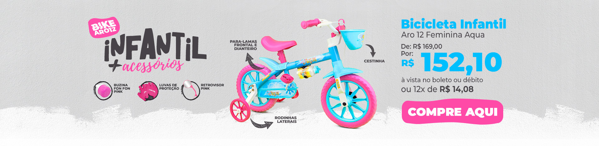 6ecc63c9b bicicleta infantil aro 12 feminina with bicicleta infantil aro 12 feminina
