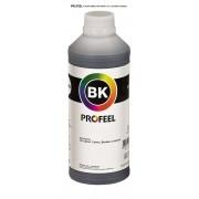 Tinta pigmentada InkTec Profeel para Canon | modelo C5000-01LB | Frasco de 1 litro | Cor : Preta