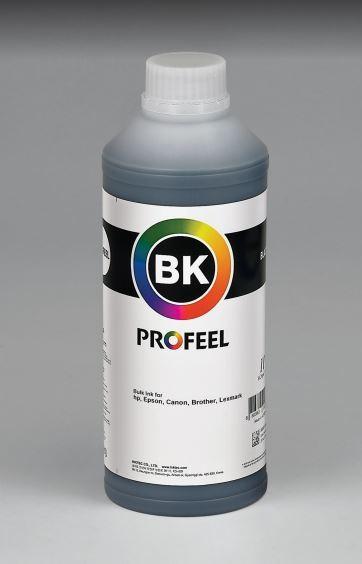 Tinta pigmentada InkTec Profeel para Brother | modelo B6000-01LB | Frasco de 1 litro | Cor : Preta