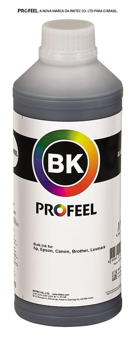 Tinta pigmentada InkTec Profeel para Canon Maxx tinta | modelo C0090-01LB | Frasco de 1 litro | Cor : Preta