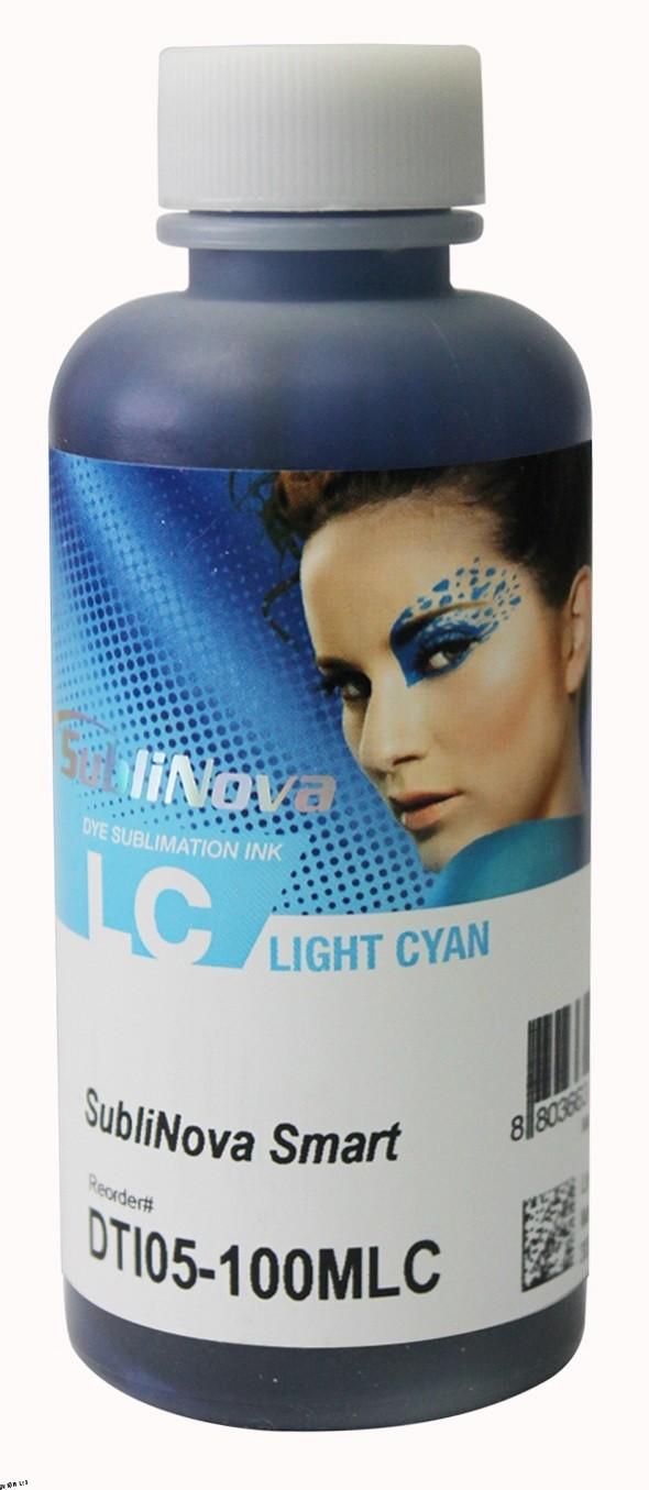 Tinta sublimática InkTec para Epson | modelo DTI05-100MLC | Frasco de 100ml | Cor : Ciano claro
