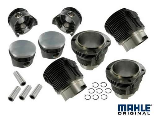 Kit Motor Vw Ar 1500 Com Mahle Metal Leve Fusca Kombi