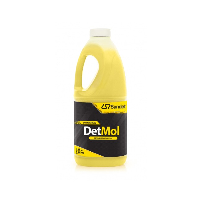 Det Mol Detergente Automotivo - Sandet (1,9 L) Diluição: Até 1:100