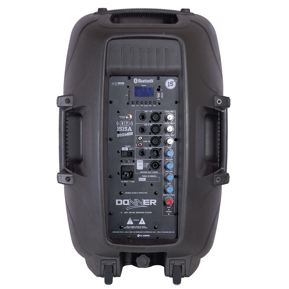 Caixa Donner AC clarity DR 1515 Ativa USB
