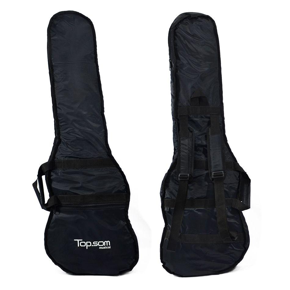 Capa de Contrabaixo Acolchoada Impermeável - Top Som Bags