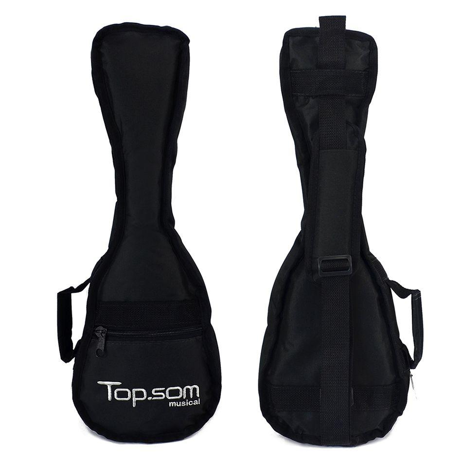 Capa de Ukulele Concert Acolchoada Impermeável - Top Som Bags