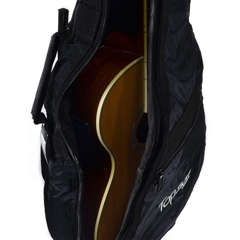 Capa para Violão Clássico Acolchoada Impermeável - Top Som Bags