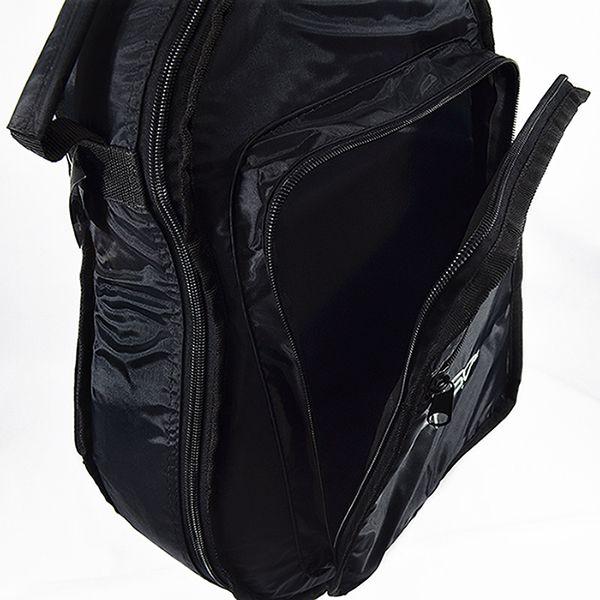 Capa para Violão Folk Acolchoada Impermeável Premium c/ bolsos extras - Preta - Top Som Bags