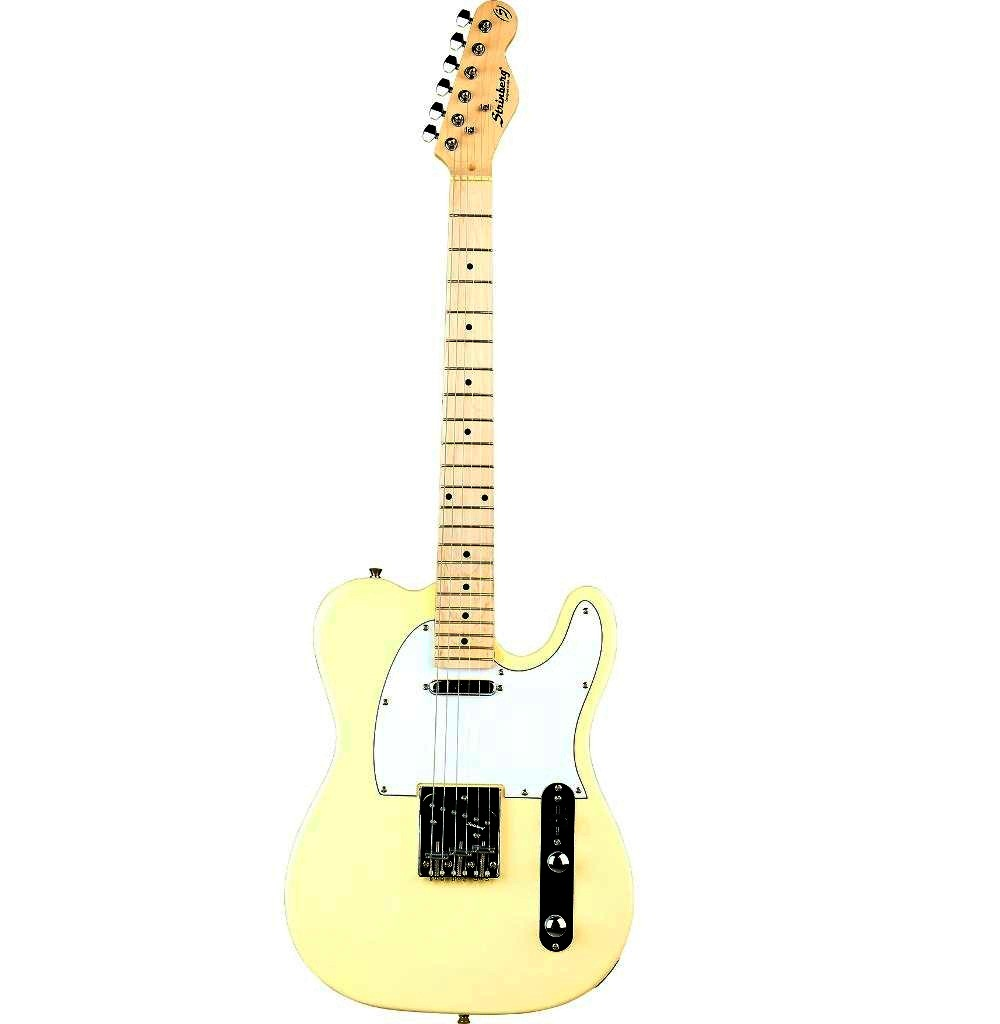 Guitarra Strinberg Telecaster  TC 120 creme
