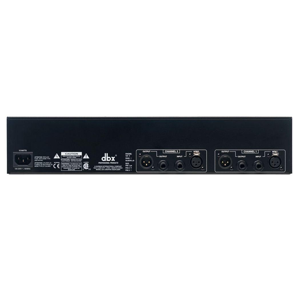 Equalizador DBX 231s 31 Stereo Bandas Bivolt 2 Canais