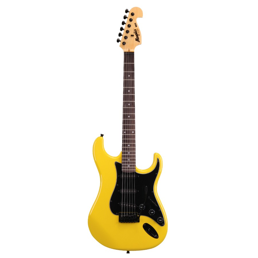 Guitarra Memphis by Tagima Strato MG32 – Amarelo Neon
