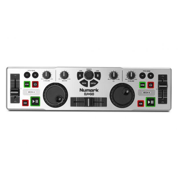 Mini Mesa Controladora para DJ Numark Virtual DJ 2 GO Portátil e com Software