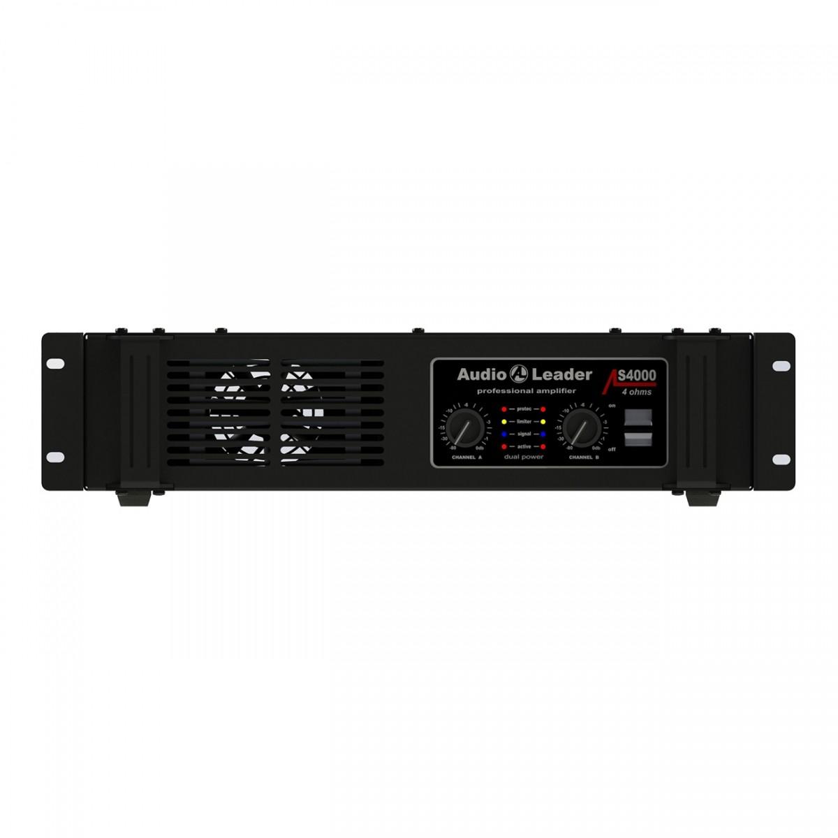 Potência Amplificador Áudio Leader Al S- 4000 4 Ohms