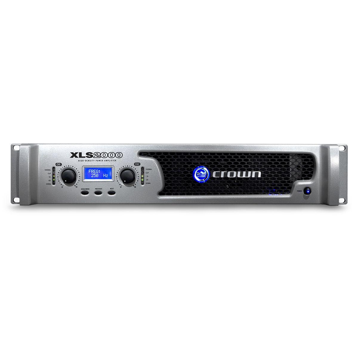 Potência Amplificador Crown XLS2000 Estéreo 2100W 220V
