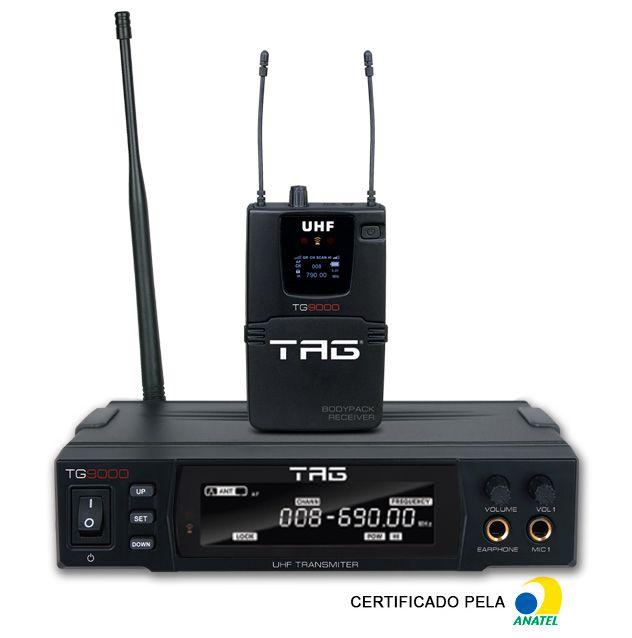 Sistema de Monitor Tagima Tagsound TG 9000 sem fio