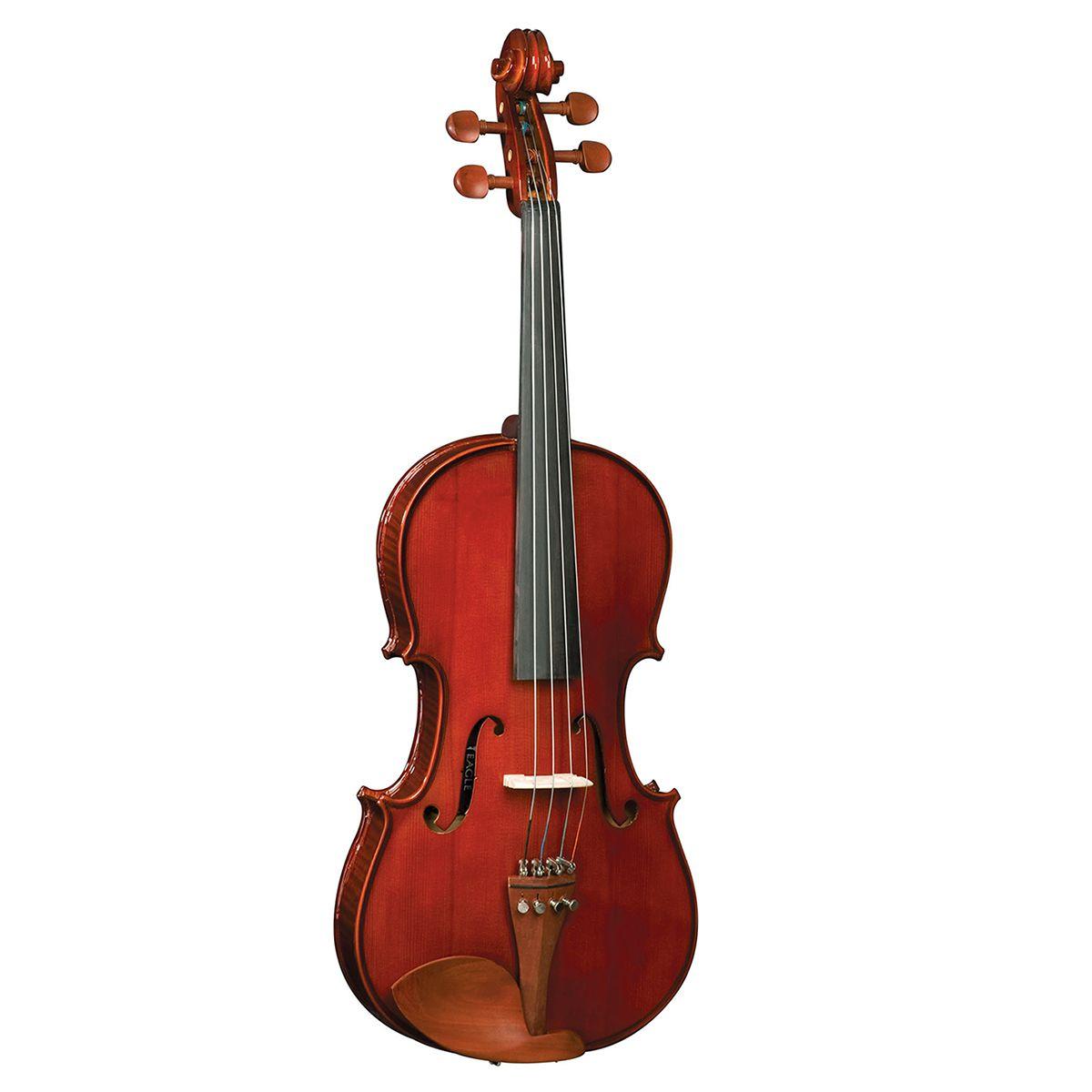 Viola de Arco Eagle VA 150 4/4 com Case Extra Luxo e Arco