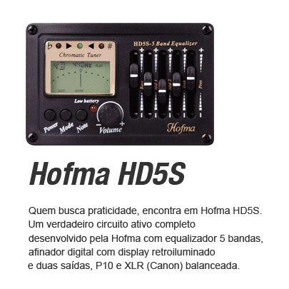 Violão Hofma Elétrico Aço Folk 12 Cordas HE 215 E12 - Natural