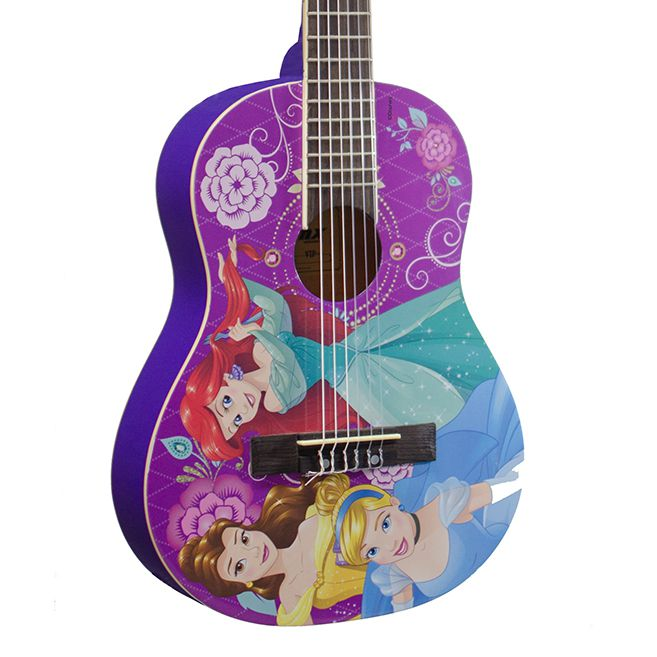 Violão PHX Phoenix Infantil Acústico Nylon Princesas Disney (VIP-4)