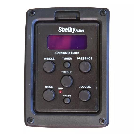 Violão Shelby Elétrico Aço Folk SGD 193c / 195c - Satin Natural