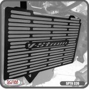 Protetor Radiador Suzuki V-strom650 2014-2018 Scam Spto320