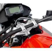 Riser Adaptador Guidao Cg2014 2014+ Scam Spta271 Prata