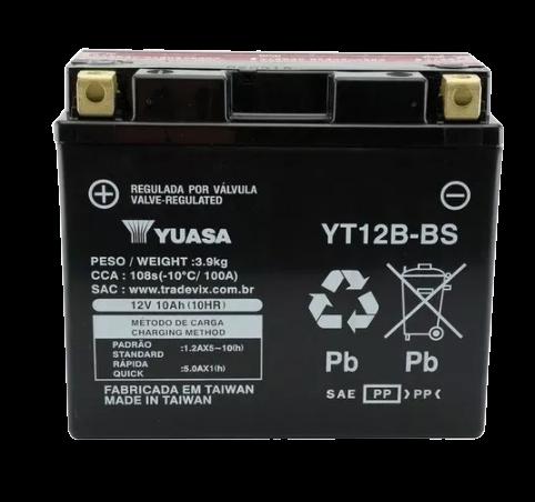 BATERIA YUASA YT12B-BS
