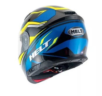 Capacete Helt Hippo Glass Imola Escamoteavel