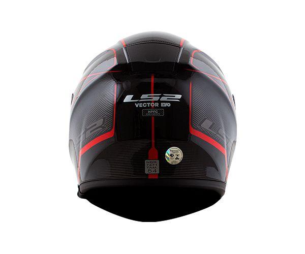 CAPACETE LS2 FF397 AURORA RED T60
