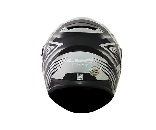 Capacete LS2 FF320 STREAM BANG Preto T58