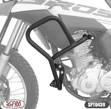 Honda Bros160 2015+ Protetor Motor Carenagem Sptop439 Scam