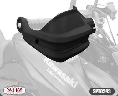 Kawasaki Versys650 Tourer 2015+ Protetor De Mao Scam Spto393