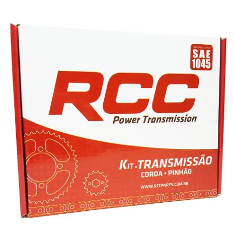 KIT TRANSMISSÃO RCC HONDA BIZ 125