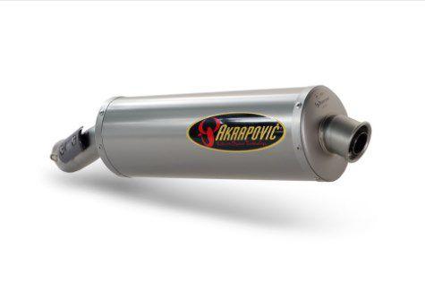 PONTEIRA AKRAPOVIC SLIP-ON TITANIO BMW-ENDURO 450 08 10
