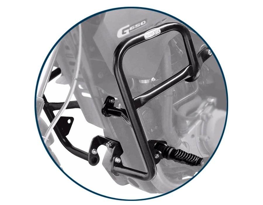 Protetor de Motor com Pedaleira G650 GS