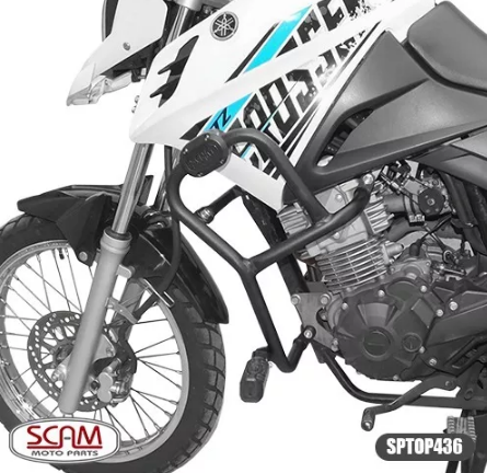 Protetor Motor Carenagem Scam Sptop436 Yamaha Crosser 2014+