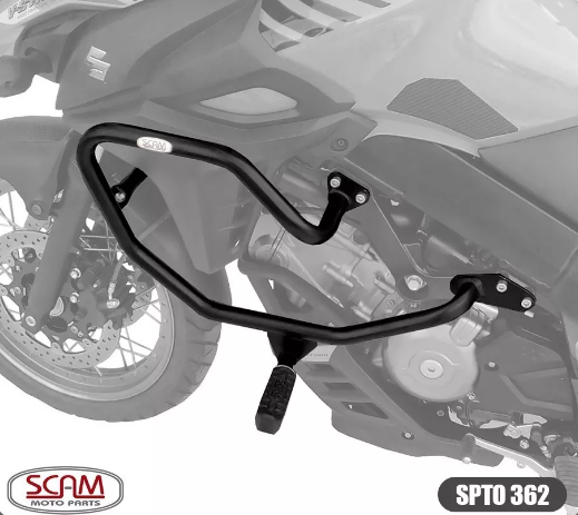 Protetor Motor Carenagem V-strom650 2014+ Sptop362 Scam