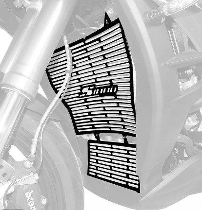 Protetor Radiador Bmw S1000xr 2016+ Spto355 Scam