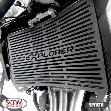 Protetor Radiador Tiger1200 Explorer 2012+ Scam Spto211