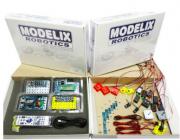 Laboratório Robótica Completo c/ Manuais, Robôs, + de 10 projetos Programáveis, Bluetooth, Controle -MODELIX