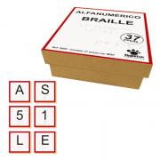 Alfanumérico Braille - Madeira