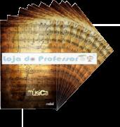 Caderno de Música Universitário ( Pacote c/ 10)