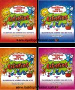 Coleção Atividades para todo dia ciências - 4 Volumes + 1 CD com atividades e experiências para imprimir