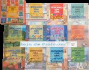 """Coleção Brincando com Arte - Atividade para """"Alfabetização Artístca"""" através de Produções que representam a Brasilidade - 11 volumes"""