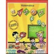 Coleção Pedagógica Matemática Telecoteco -  4 A 8 Anos
