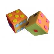 Dados de Pingos em Tecido 20x20 cm Jodane
