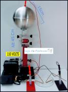 """Gerador Eletrostático de Van de Graaff  """"110 Volts"""""""